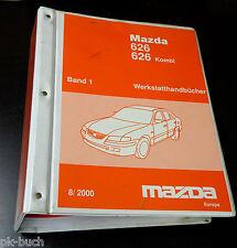 Werkstatthandbuch Mazda 626 / Kombi Elektrik / Getriebe / Klimaanlage, St. 2001