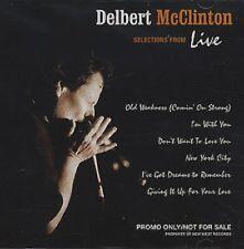 DELBERT McCLINTON Selections 6 TRACK SAMPLER RARE PROMO DJ CD 2003