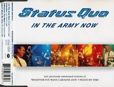 STATUT QUO RARE CD-SINGLE in the army now 1998+ Caroline Live, whatever you want