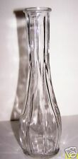 9 INCH BRODY CO CLEAR GLASS VASE NO 10