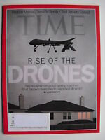 RISE OF THE DRONES  February 11, 2013 TIME Magazine