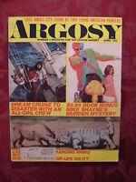 ARGOSY April 1971 MIKE SHAYNE BRETT HALLIDAY +++