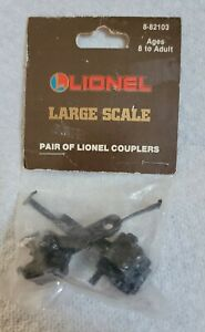 Lionel 8-82103 Large Scale Pair Of Lionel Coupler New in package