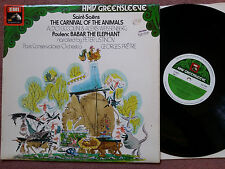 ESD 7020 The Carnival Of The Animals -Pretre Ustinov - Saint-Saens Poulenc LP