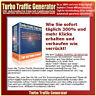 Turbo Traffic Generator -Die automatische Internet-Geldmaschine -Master Reseller
