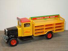 White Truck Coca Cola - Siku *33976