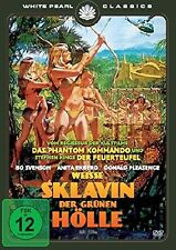 White Slave of The Green Inferno Remastered Gold of the Amazon Women DVD NEW