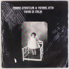 CONRAD SCHNITZLER & M. OTTO: Micon In Italia SEALED '86 Electro Experimental LP