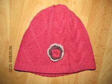 bonnet rose (taille 53) soit 3 ans KIABI
