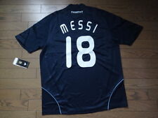 Argentina #18 Messi 100% Original Soccer Jersey Shirt 2008/09 Away XL Still BNWT