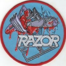 RAZOR - Violent Restitution - Woven Patch / Aufnäher