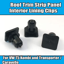 10x Clips For VW T5 Transporter Bus Roof Trim Strip Panel Interior Lining Clips