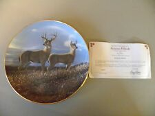 Danbury Mint Porcelain Collector Plate Autumn Hilldise by Bruce Miller
