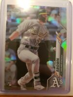 2019-20 TOPPS CHROME REFRACTOR ROOKIE CARD *SETH BROWN OAKLAND ATHLETICS #23