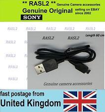 Original SONY USB cable DSC- HX80 HX20 HX30 V HX10 DSC-RX1 RX10 RX100 ll lll lV