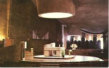 St. Mary's Church Red Deer AB Alberta Interior Vintage Postcard D1