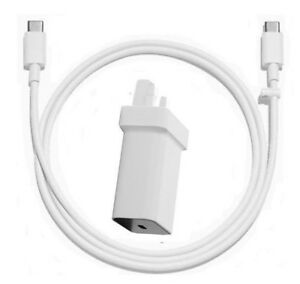 GENUINE GOOGLE PIXEL FAST MAINS CHARGER + USB-C TO TYPE C FAST DATA CABLE 1m