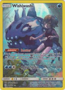Wishiwashi (Full Art) - 240/236 Holo Rare SM Cosmic Eclipse Pokemon Card