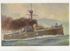 German Warship Oldenburg Vintage Postcard US042