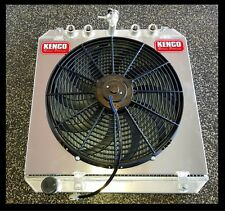 "Wingless Sprintcar Radiator with Aluminium Shroud and 16"" Thermo Fan Suit Buick"