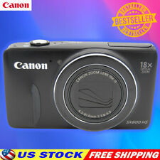 Canon PowerShot SX600 HS 16MP Digital Camera 18x Optical 1080P HD Camera