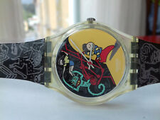 Swatch GENT VINTAGE COLLECTION(1997) GK235 Jungle Tangle watch COLLECTOR NOS UHR