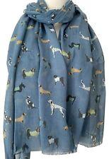 NUOVO design DALMATA Labrador Cane Levriero Sciarpa disponibile in 5 COLORI