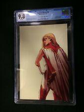 Captain Marvel #8 Second Printing Carnero Virgin Variant Cover CGC 9.8 1st Star