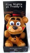 "Five Nights at Freddy's 10"" Happy Fazbear Plush Boxed-FNF 10"" Fazbear Plush-New!"
