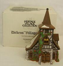 Dept 56 OLD MICHAELCHURCH Dickens Heritage Village Lighted Building #55620 MIB