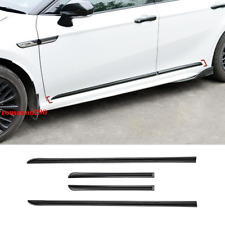 For Toyota Camry 2018-2020 Gloss Black Side Door Body Molding Cover Trim 4pcs