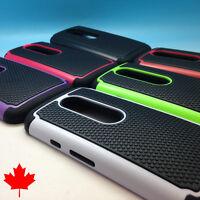 """Motorola Moto G3 G 3rd Gen Hybrid Heavy Armour Tough Cover Case 5.0"""" Canada"""