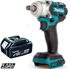 Makita DTW285Z 18V 1/2in Brushless Impact Wrench With 1 x 5.0Ah BL1850 Battery