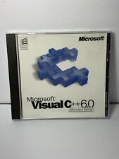 Microsoft Visual C++ 6.0 6 Professional C FULL VERSION for Windows