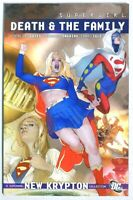P5111. SUPERGIRL: DEATH & THE FAMILY Trade Paperback DC Comics (2010) 1st Print