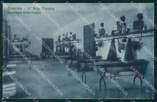 Rovereto città 17º Reggimento Fanteria Militari Camerata cartolina QT7716