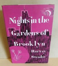Nights in the Gardens of Brooklyn Harvey Swados Hb book Dj 1962 Short Stories
