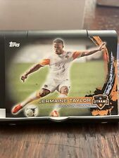 2014 Topps MLS #130 Jermaine Taylor Black /10 Houston Dynamo