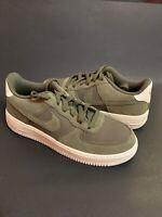 Nike Air Force 1 AF1 Neutral Olive Green Gum Bottom 596728