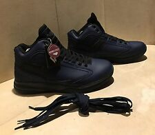 New PONY. Mens Shoes High Top Fashion Sneakers Blue Black Size 13