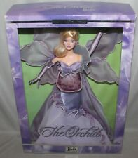 2000 MATTEL FLOWERS IN FASHION THE ORCHID BARBIE DOLL LIMITED EDITION 2nd SERIES