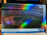 2019 Topps Series 1 Parallel Rainbow Foil Rogers Centre Toronto Blue Jays