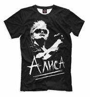 Kinchev Alisa t-shirt music russian rock Кинчев группа Алиса русский рок