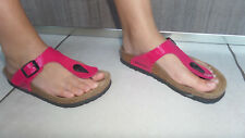 tongs mules rose birkenstock 32 GIZEH