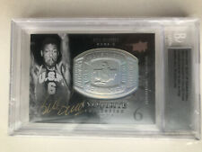 2011-12 UD EXQUISITE AUTO AUTOGRAPH BILL RUSSELL #43/50 VERY RARE