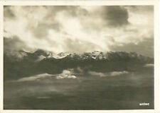 Oberland bernois Schweiz Switzerland Suisse Zeppelin Airship IMAGE CARD 30s