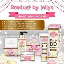 GLUTA JELLY PURE SOAP+ LOTION+CREAM+DD WHITE SKIN ANTI DARK SPOT - SET 4 PCS
