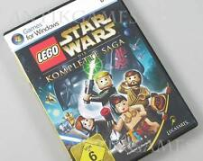 Lego Star Wars episodio 1 & 2 & 3 & 4 & 5 & 6 completamente PC alemán saga completa