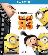 Despicable Me 3 3D (Blu-ray 3D, 2017) English,Russian,Croatian,Greek,Slovenian