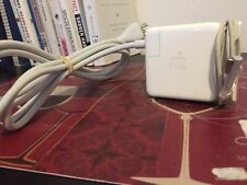 Used Original Apple MacBook MagSafe1 60W AC ADAPTER CHARGER A1344 + Free Cord